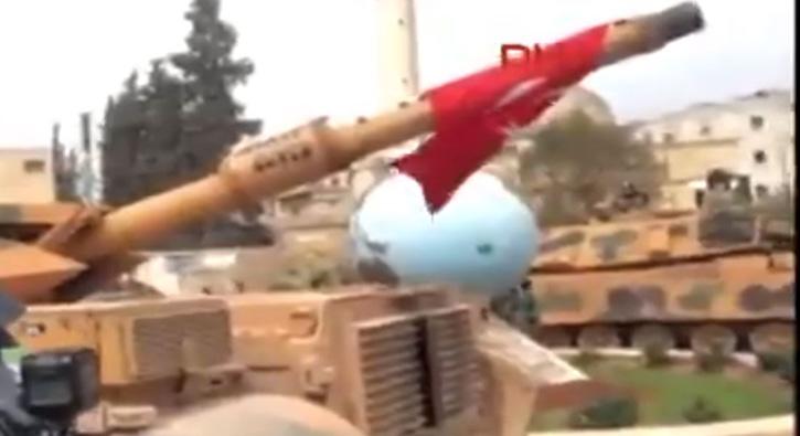 Türk tankları Afrin´in tam merkezinde