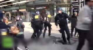 PKK yandaşları bu defa Alman polisiyle karşı karşıya geldi... İşte sonuç