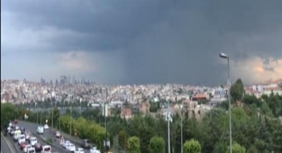 İstanbul´da beklenen yağış etkisini artırdı