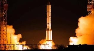Rusya Proton-M'i fırlattı