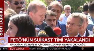 Cumhurbaşkanı Erdoğan'dan FETÖ'nün suikast timinin yakalanmasına ilişkin açıklama: Korkumuz söz konusu değil