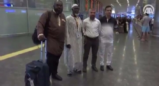 Hac hayaline kavuşacak Ganadalı Abdullah İstanbul'a geldi