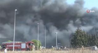 Tuzla´da yanan fabrikada patlama: Yaralılar var