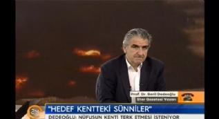Prof. Dr. Beril Dedeo�lu: Hedef Musul'daki S�nniler