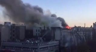 New York'ta dev yangın