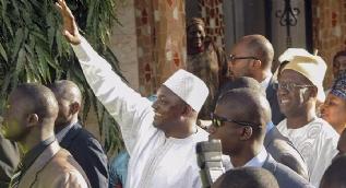 Seçim sonrası görev değişimi tıkandı, Gambia karıştı