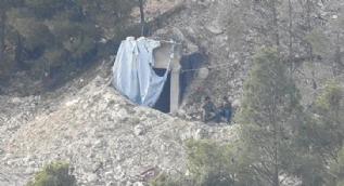 YPG´li teröristler hendek kazarken böyle görüntülendi