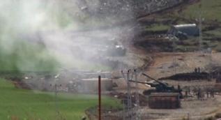 Sınırında ezan sesleriyle Raco bölgesine top atışları başladı