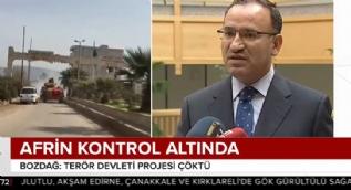 Hükümetten Afrin açıklaması: Dün Afrin´e girmeyin diyenler bugün TSK´yı tebrik etmek zorunda kaldı
