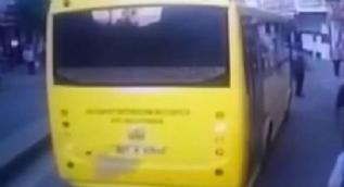 Gaziantep´te bıçaklı ve sopalı grubun halk otobüsüne saldırı anı kamerada