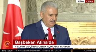 Başbakan Yıldırım: Türkiye yeni bir vizyonla yeni bir başlangıç yapmak istiyor