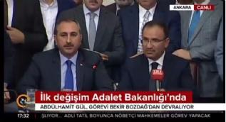 Abdulhamit Gül: 15 Temmuz'da Türk yargısı kahramanca dik durmuştur