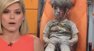 CNN Spikeri Suriye'de Yaralanan �mran'� G�r�nce H�ng�r H�ng�r A�lad�