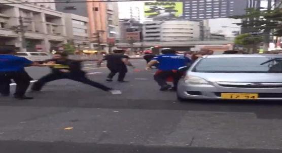 Tokyo'nun orta yerinde Ermeni-Türk kavgası çıktı