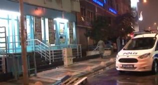 İstanbul Kağıthane'de bıçaklı market soygunu