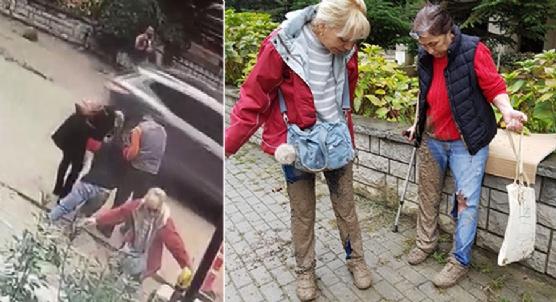 Kadıköy´de ´beton´ tuzağı: 2 kadın betona battı