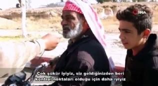Suriyeli kardeşlerimizden Mehmetçiğe teşekkür
