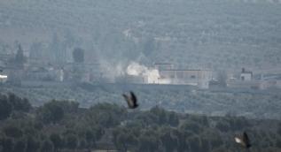 Afrin´deki terör örgütü PKK/PYD mevzileri böyle vuruldu