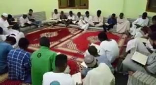 Sudanlılardan Türkiye´ye dua