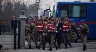 Cumhurbaşkanı Erdoğan'a 'suikast timi' mahkemeye böyle getirildi