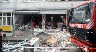 İstanbul'da doğalgaz patlaması: 1'i ağır 7 kişi yaralandı