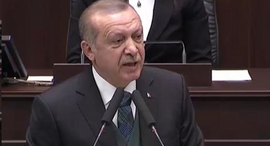 Cumhurbaşkanı Erdoğan´ın ilk defa okuduğu Afrin şiiri ayakta alkışlandı
