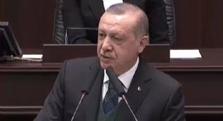 Cumhurbaşkanı Erdoğan: Afrin Operasyonu´na karşı çıkanlar şimdi ordumuzu tebrik ediyor