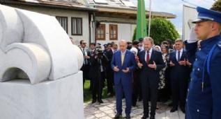 Cumhurbaşkanı Erdoğan, Saray Bosna´ya iner inmez oraya gitti