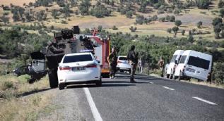 Diyarbakır Lice'de polis aracıyla otomobil çarpıştı: 5 kişi hayatını kaybetti, 5 polis yaralandı