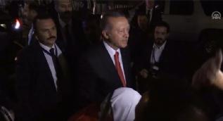 Cumhurbaşkanı Erdoğan'a gurbetçilerden sevgi gösterisi