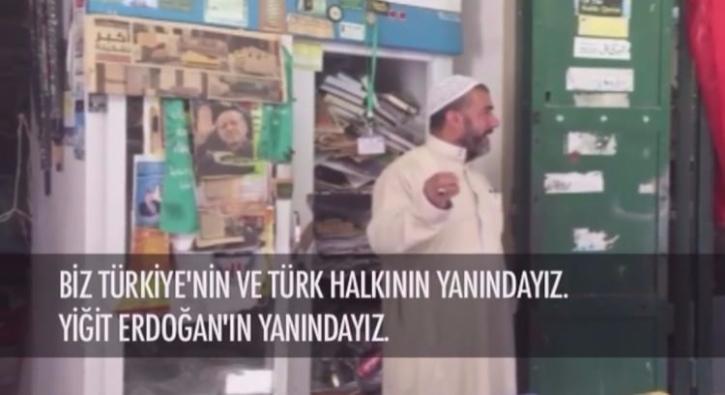 Filistinli esnaf�n T�rkiye ve Erdo�an sevgisi