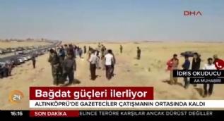Kerkük'te çatışma ortasında kalan Türk gazeteci o anları anlattı