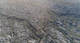 Yunanlıları durdurduğumuz siperler havadan görüntülendi