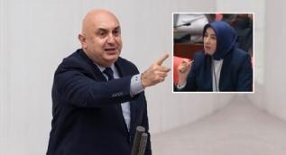 CHP´li Özkoç´tan AK Parti Grup Başkanvekili Özlem Zengin: Bu hanımefendiye haddini bildirin