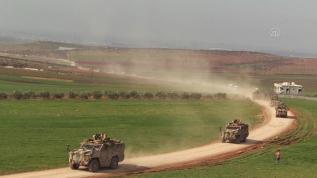 Suriye sınırında hareketlilik sürüyor! Fetih Suresi'yle uğurlandılar