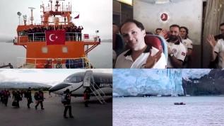 Bakanı Varank açıkladı: Türk ekibi beyaz kıtaya ulaştı