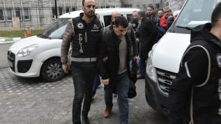 Samsun merkezli komiser yardımcılığına geçiş sınavı soruşturmasında gözaltına alınan zanlılar adliyede