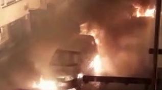 İstanbul'da 9 aracı böyle kundakladılar