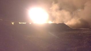 Rejime ait kimyasal harp tesisi vuruldu