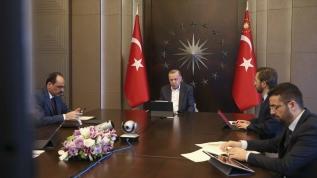 Başkan Erdoğan MİT Başkanı Fidan ile görüştü