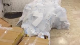 29 bin 400 kaçak maske yakalandı