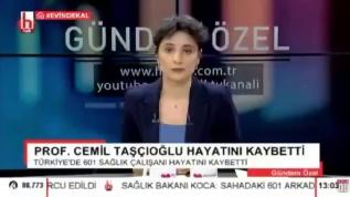 Halk TV'den kirli algı operasyonu! Sağlık çalışanlarını öldü diye servis ettiler