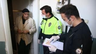 Polis koronavirüsle mücadele için seferber oldu