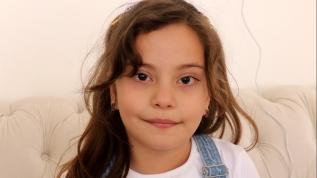 8 yaşındaki Elanur'dan Milli  Dayanışma'ya destek
