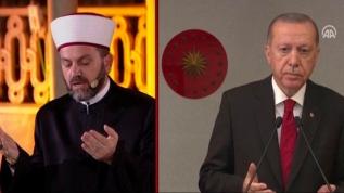 Başkan Erdoğan Fetih Suresinin mealini okudu