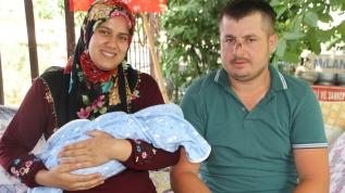 Eşinin geçirdiği kaza, bebeğinin hayatını kurtardı