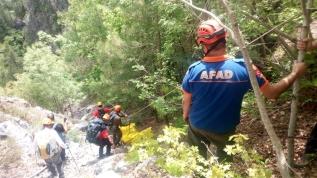 Kaybolan dağcının cesedi bulundu