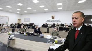 Başkan Erdoğan sınırdaki birlik komutanlarına seslendi