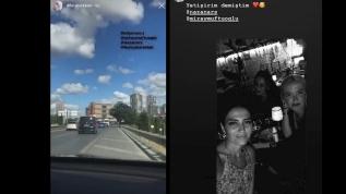 İYİ Parti milletvekili Lütfü Türkkan'ın kızı sirenli çakarlı araçla emniyet şeridini kullandı