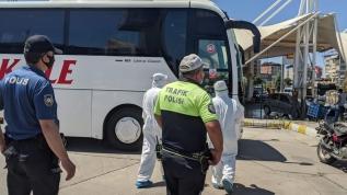 HES kodunu hatalı verdi, otobüsten indirilerek hastaneye götürüldü
